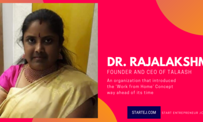 Dr. Mrs. Rajalakshmi Rahu – Entrepreneur CEO & Founder of Talaash Research Consultants