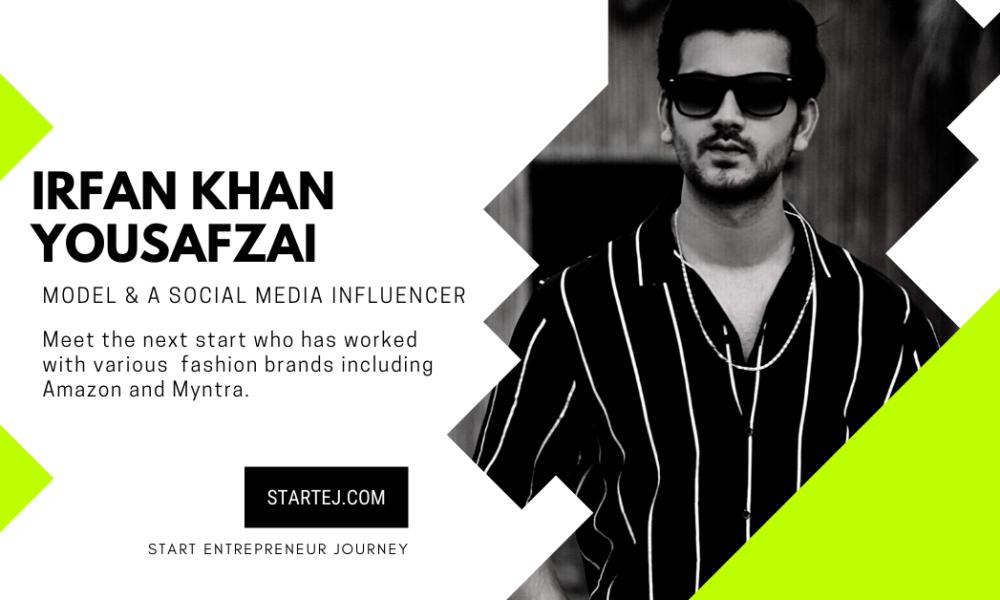 Irfan Khan YousafzaiModel and fashion Influencer.
