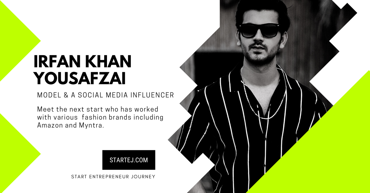 Irfan Khan YousafzaiModel and fashion Influencer.